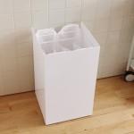 スッキリ!キッチンのゴミ箱が分別もできてこんなにおしゃれになるとは